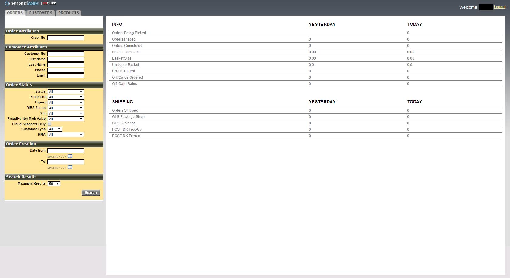 Demandware Customer Service Suite